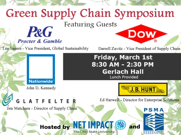 Join Green Supply Chain Symposium this Friday!