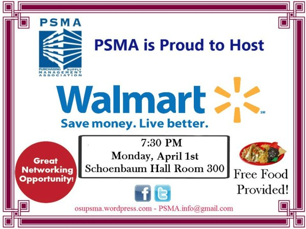 Join us with Walmart on April 1st!