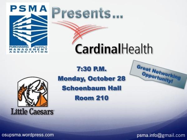 Cardinal Health Flyer